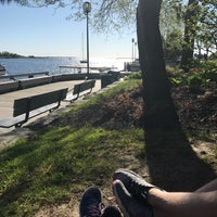 Photo taken at Waterfront Park by Treena on 5/20/2017