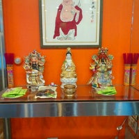 Photo taken at Happy Buddha Vegetarian Restaurant by Harrison Osito C. on 12/31/2012