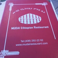Photo taken at Mudai Ethiopian Restaurant by Harrison Osito C. on 8/20/2013