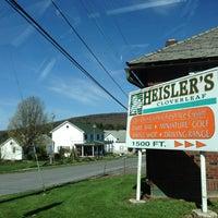 Photo taken at Heisler's Cloverleaf Dairy Bar by Julie . on 4/21/2013