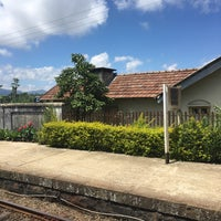 Photo taken at Haputale Railway Station by e on 10/21/2017