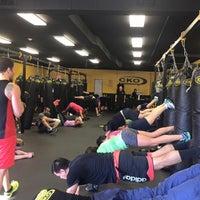 Photo taken at CKO Kickboxing by CKO Kickboxing on 10/19/2016
