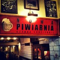 Photo taken at Podwale 25 Kompania Piwna by Pavel on 4/17/2013