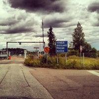 Снимок сделан в Пропускной пункт Иматра пользователем Pavel 7/22/2013