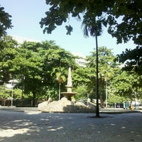 Photo taken at Praça General Osório by Natalia B. on 4/19/2013