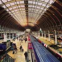 Photo taken at London Paddington Railway Station (PAD) by Rowland W. on 5/13/2013