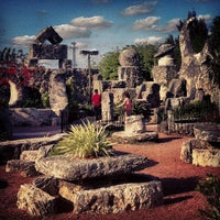 Photo taken at Coral Castle by Irina on 3/30/2013