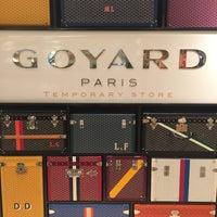 Photo taken at Goyard Boutique by Shari T. on 3/1/2015
