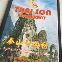 Photo taken at Thai Son by Shari T. on 4/14/2016