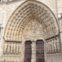 Photo taken at Cathedral of Notre Dame de Paris by Tasha S. on 6/14/2013