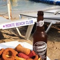 9/14/2018 tarihinde İlayda Y.ziyaretçi tarafından Monte Beach Club'de çekilen fotoğraf