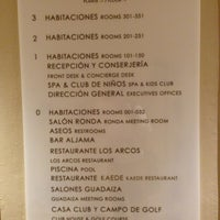 Photo taken at Hotel La Quinta Golf Resort & Spa Marbella by Sergio Z. on 8/5/2013