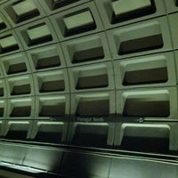 Photo taken at Farragut North Metro Station by Alwyn L. on 12/27/2012
