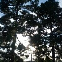 Photo taken at Orizaba Park by Alwyn L. on 10/31/2012
