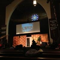 Photo taken at Lake Ave Church by Yeca on 12/23/2012