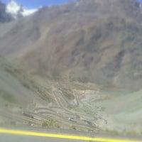 Photo taken at curva 22 paso los libertadores by Constanza P. on 11/1/2012