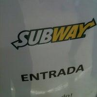 Photo taken at Subway by Dannzin on 10/18/2012