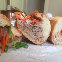 Photo taken at Saigon Sandwich by Alice D. on 1/11/2013