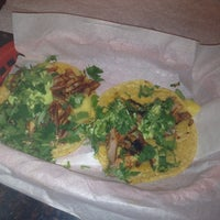 Photo taken at Los Tacos by Kathy G. on 2/8/2014