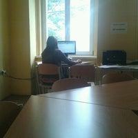 Photo taken at Škola mezinárodních a veřejných vztahů by Veronica R. on 10/18/2012