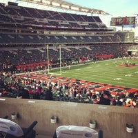 Photo taken at Paul Brown Stadium by Alhaji D. on 11/25/2012
