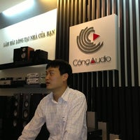 Photo taken at Công Audio @ Hà Nội Tower by Tracy on 3/12/2013