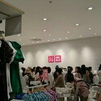 Photo taken at ユニクロ アピタタウン金沢ベイ店 by あいのん on 5/29/2015