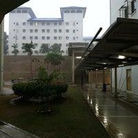 Photo taken at Multimedia University (HB2 Hostel) by Amirul F. on 6/25/2013