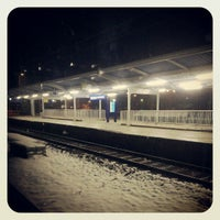 Photo taken at Warsaw West Railway Station by Yan Y. on 10/29/2012