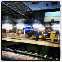 Photo taken at Warsaw West Railway Station by Yan Y. on 12/3/2012