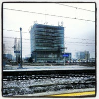 Photo taken at Warsaw West Railway Station by Yan Y. on 12/4/2012