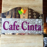 Photo taken at Cafe Cinta by Razmie R. on 3/10/2013
