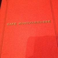Photo taken at Café Montparnasse by Fadhila B. on 10/17/2012