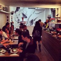 Photo taken at Lantana Cafe by Simon T. on 4/28/2013