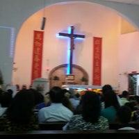 Photo taken at Assumption Church by MaryAnn T. on 2/17/2013