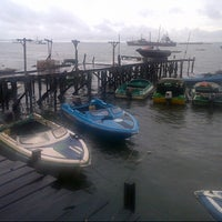 Photo taken at Pelabuhan speedboat kampung baru by Irfan S. on 4/4/2013