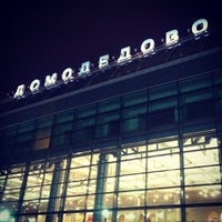 Photo taken at Domodedovo International Airport (DME) by RinaBlahBlah on 10/24/2013