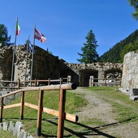 Photo taken at Fort Strino by Matteo Q. on 10/16/2016