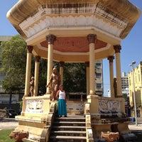 Photo taken at Praça Fausto Cardoso by Wagner on 11/2/2012