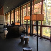 Photo taken at Hoshinoya Karuizawa by fulxus on 11/2/2012