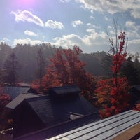 Photo taken at Hoshinoya Karuizawa by fulxus on 11/1/2012