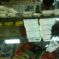 Photo taken at El Sha3er Supermarket by Moo on 10/29/2012