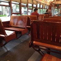 Photo taken at St. Charles Line Streetcar by Timothy on 4/3/2014