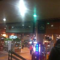 Photo taken at Estación Intermodal La Cisterna by Juan Pablo S. on 4/9/2013