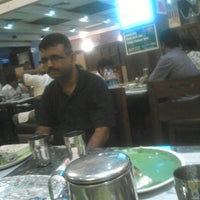 Photo taken at Sangeethas restaurant by Jayavel S. on 5/23/2014