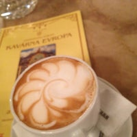 Photo taken at Cafe Evropa by Eugenia K. on 9/29/2012