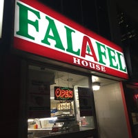 Photo taken at Falafel House by Delbar K. on 10/14/2016