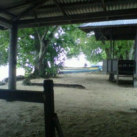 Photo taken at Pulau Siladen by Deyce P. on 2/14/2013