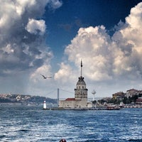 Photo taken at Maiden's Tower by Mehmet on 7/27/2013