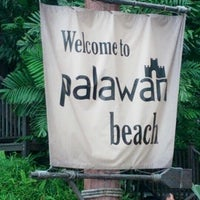 Photo taken at Palawan Beach by Ahmad Asrorie A. on 12/25/2012